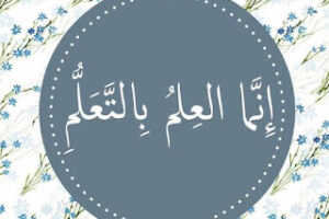 Knowledge Only Comes by Learning – by Aaqib ibn Amin